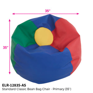 SoftZone® Classic Bean Bag Standard 35in - Primary