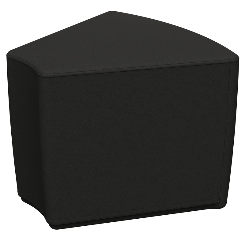 SoftZone® Wedge Ottoman Standard - Black
