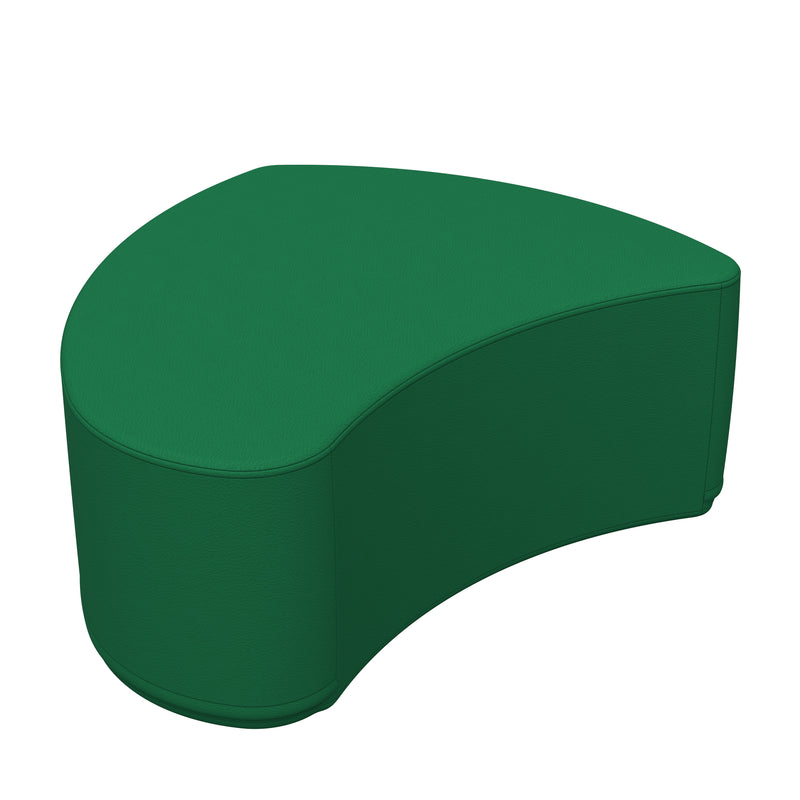SoftZone® Petal Ottoman Junior - Green