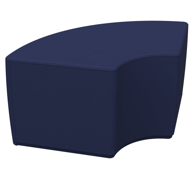 SoftZone® Quarter Circle Ottoman Standard - Navy