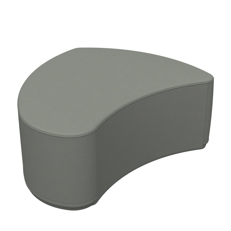 SoftZone® Petal Ottoman Junior - Grey