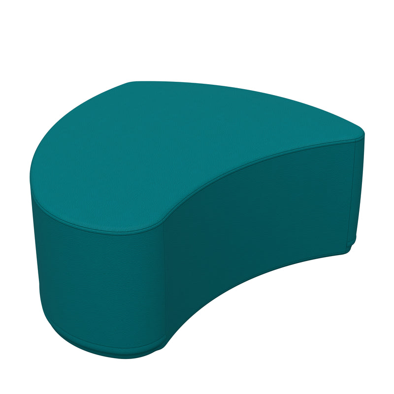 SoftZone® Petal Ottoman Junior - Seafoam