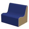 SoftZone® Wave Toddler Sofa - Blue/Sand