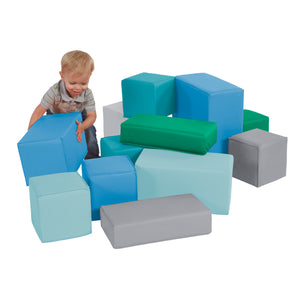 SoftZone® Stack-A-Block Set 12-Piece - Contemporary