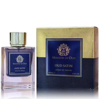 Oud Satin By Ministry Of Oud Paris Eau De Parfum 100ml Retail Pack