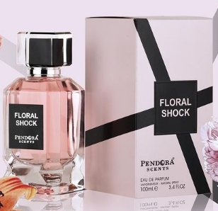 Floral Shock By Pendora Paris Corner Eau De Parfum For Women 100ml Retail Pack