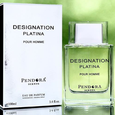 Designation Platina Pour Homme By Pendora Paris Corner 100ml Retail Pack