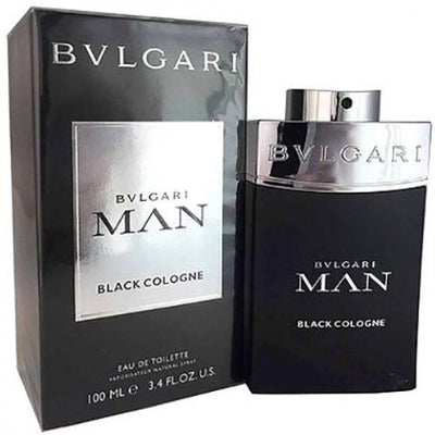 BVLGARI MAN BLACK COLOGNE FOR MEN EAU DE TOILETTE 100ML