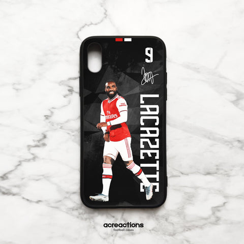 Alexandre Lacazette # 9 Celebration Black Panzer