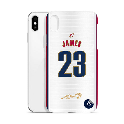 James #23 Cleveland Cavaliers - White