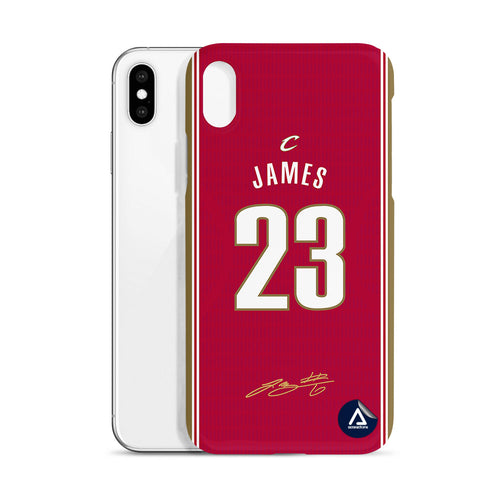 James # 23 Cleveland Cavaliers - Rot