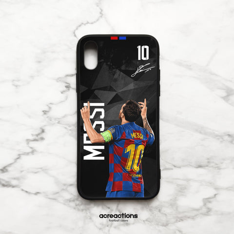 Leo Messi #10 Back Black Panzer