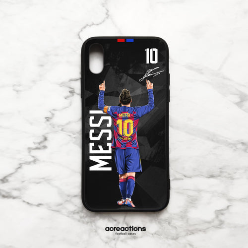 Leo Messi #10 God Celebration Black Panzer