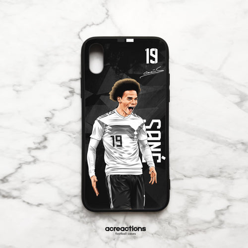 Leroy Sané #19 Germany Black Panzer