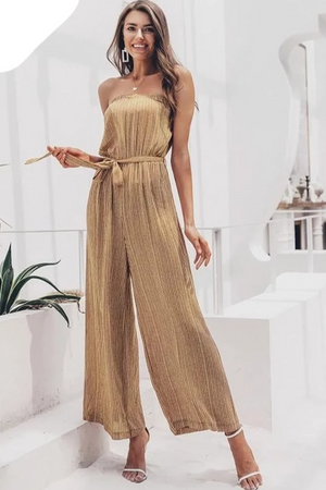 Off-The-Shoulder Jumpsuit
