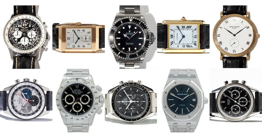 Top 10 Watches: The Biggest Watch Icons