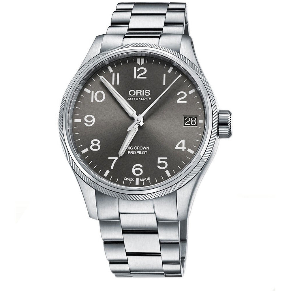 Oris Big Crown ProPilot, 45.00 mm Grigio - [product_body] - Oris - Gioielleria Antonio Pezzuto