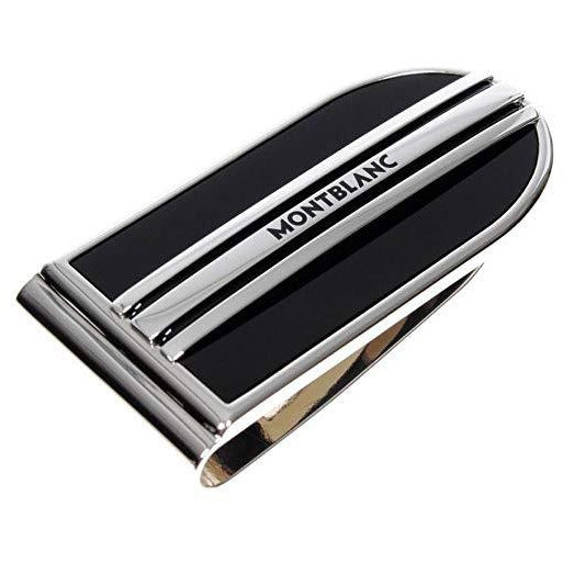 Money Clip, MST steel with onyx, lacquer