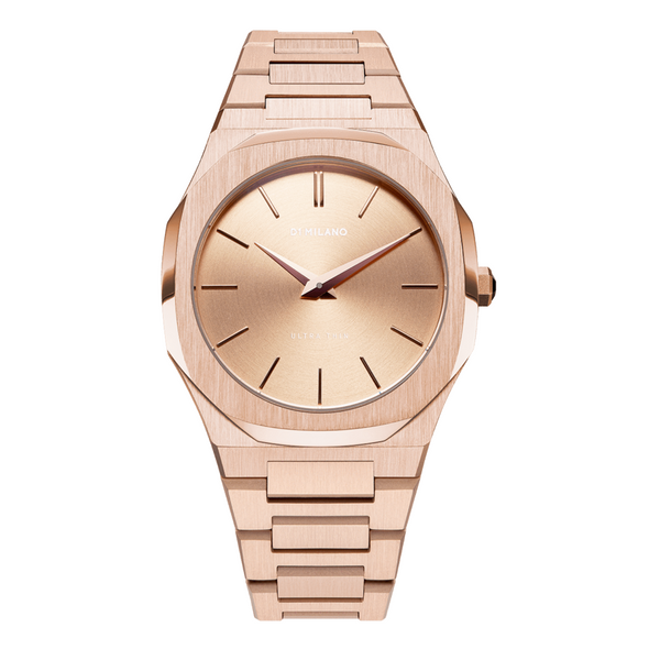 ULTRA THIN 38 mm CASSA E BRACCIALE ROSE GOLD - [product_body] - D1 Milano - Gioielleria Antonio Pezzuto