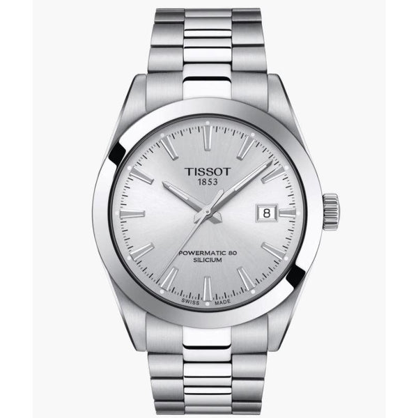TISSOT GENTLEMAN POWERMATIC 80 SILICIUM BIANCO