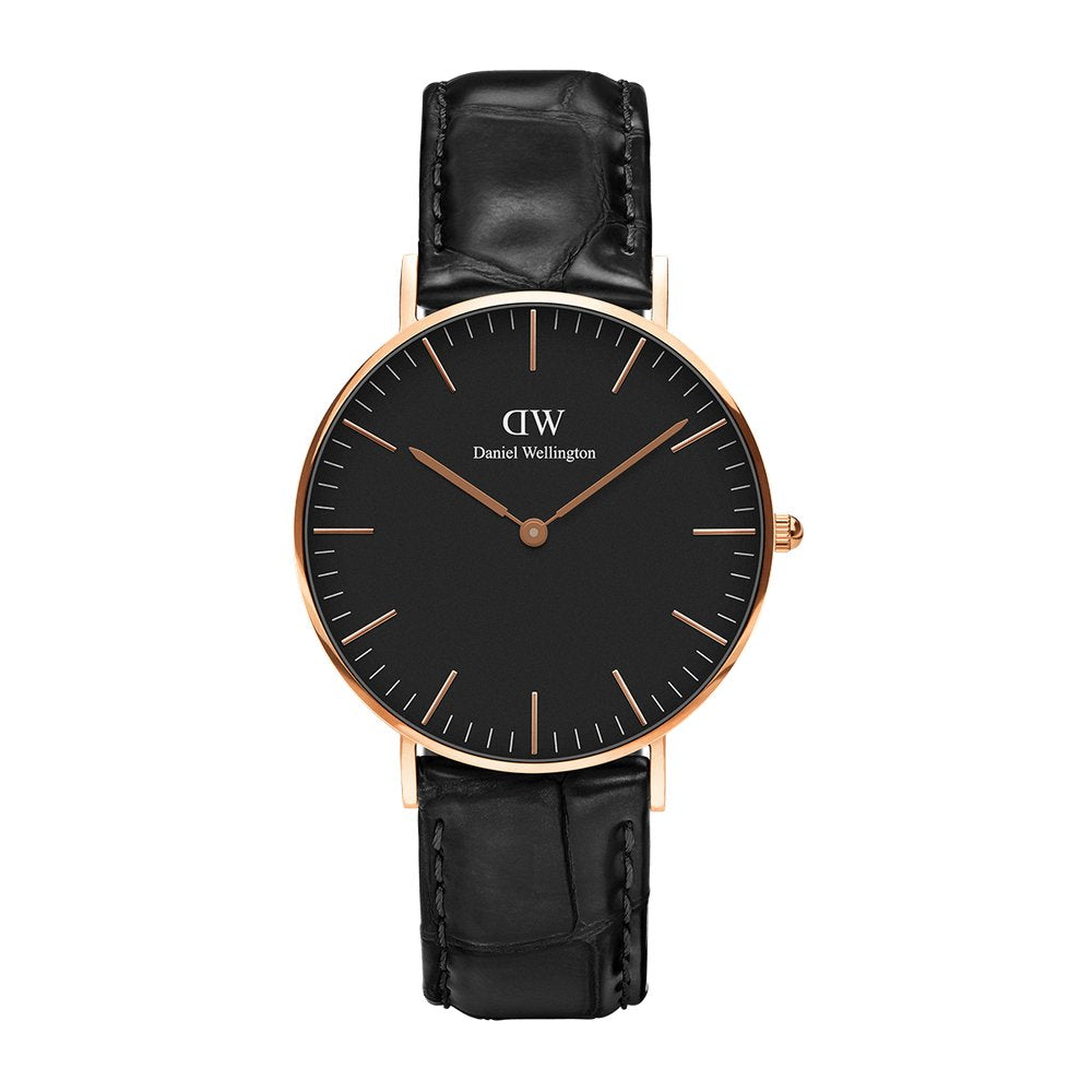 Classic 36 Reading RG Black - [product_body] - Daniel Wellington - Gioielleria Antonio Pezzuto
