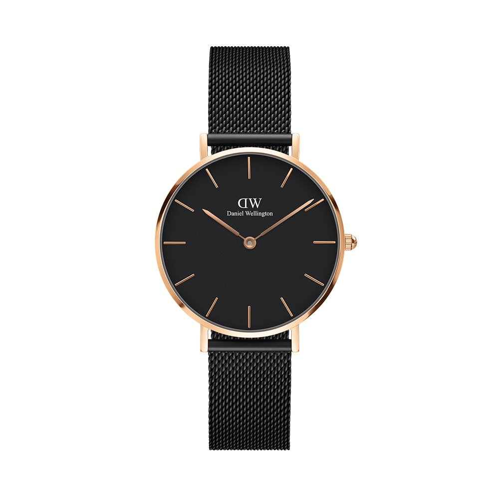 Petite 32 Ashfield RG Black - [product_body] - Daniel Wellington - Gioielleria Antonio Pezzuto