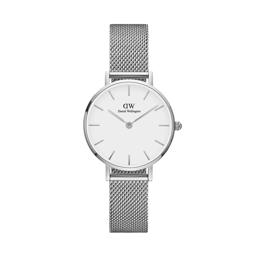 Petite 28 Sterling S White - [product_body] - Daniel Wellington - Gioielleria Antonio Pezzuto