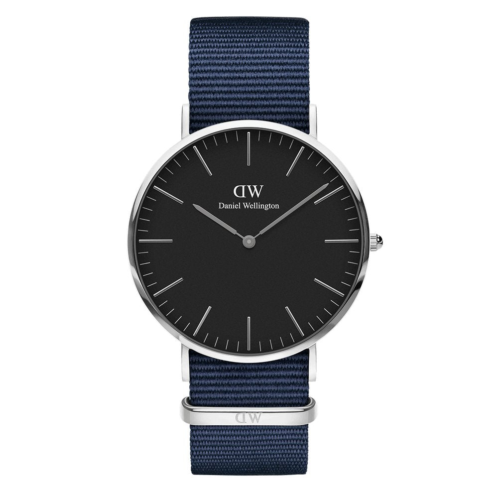 CLASSIC 40MM Blue Silver - [product_body] - Daniel Wellington - Gioielleria Antonio Pezzuto