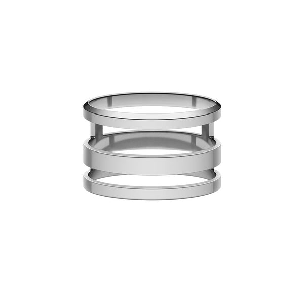 Elan Triad Ring Silver