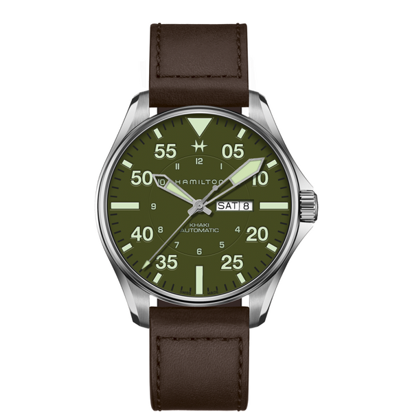 Khaki Aviation Pilot Schott NYC - Limited Edition