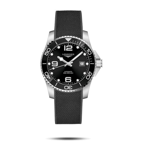 HydroConquest Ceramic 41 mm Black
