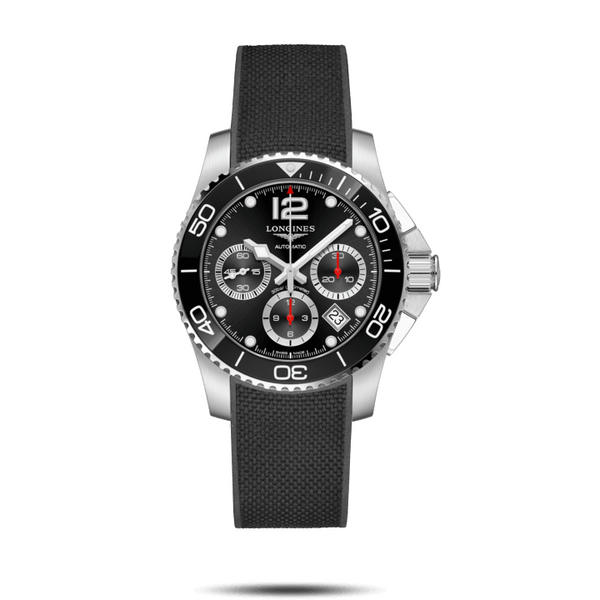 Hydroconquest Ceramic Crono 41 mm Black