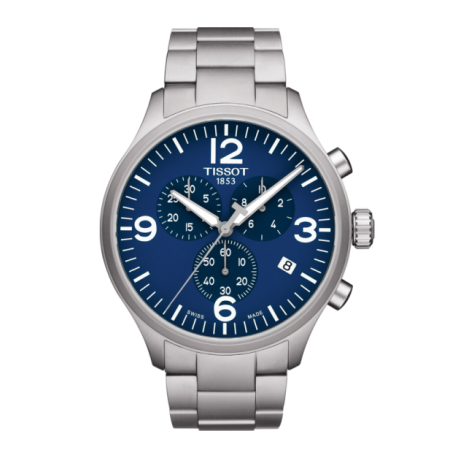 CHRONO XL/BGR/CHRQ/STEEL/BLUE - [product_body] - Tissot - Gioielleria Antonio Pezzuto