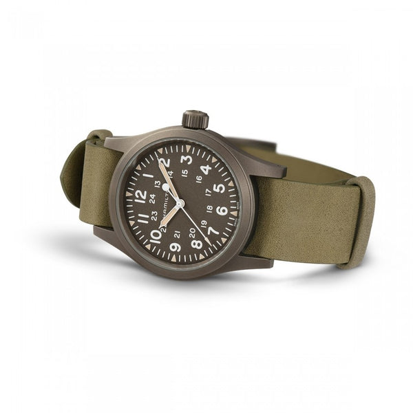 Khaki Field Mechanical 38mm