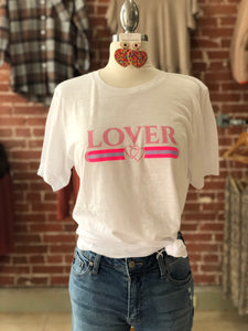 Lover T-shirt white