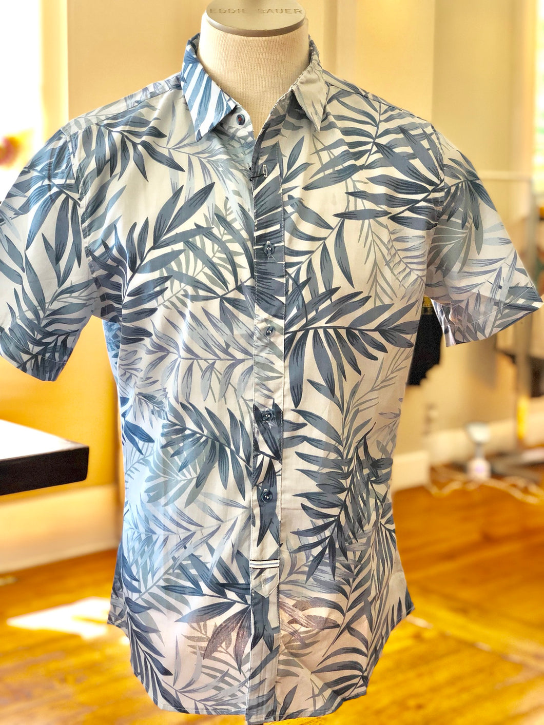 Shorty sleeve Men's tropical top