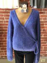 Load image into Gallery viewer, Surplice sweater