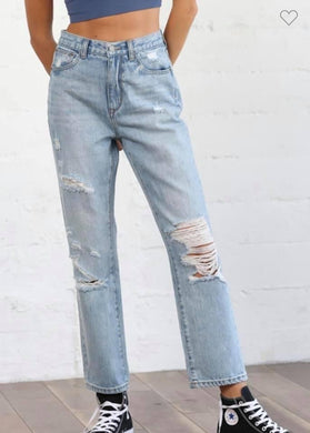 Distressed by together jeans