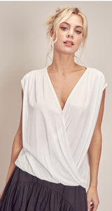 Surplice top