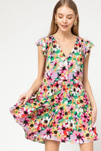 Load image into Gallery viewer, Floral tunic