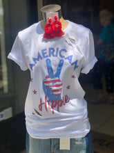 Load image into Gallery viewer, American hippie tshirt