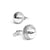 Cricket Ball Cufflinks in 925 Silver- Cricket Gifts for men- Cricket jewellery