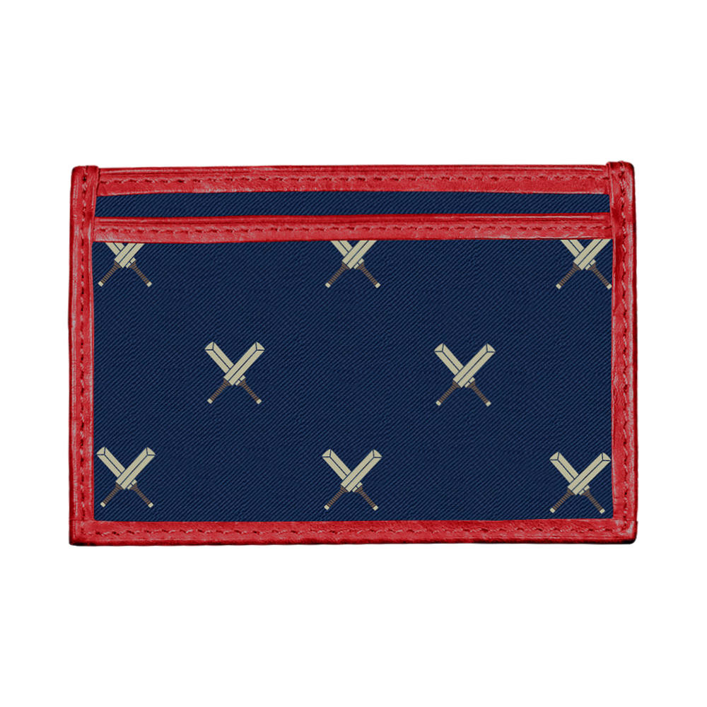 Cricket Card Wallet Crossed Bats