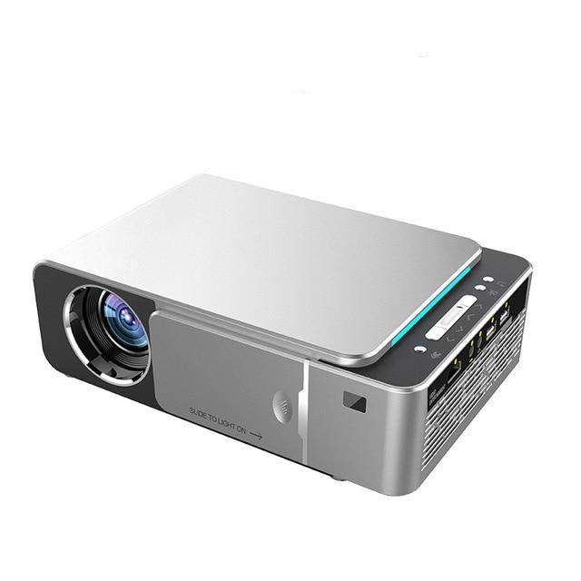 HD LED Projector 720p 2600 Lumen Optional Android 7 1 WIFI Portable HDMI  USB Support 4K 1080p Home Theater Projector Beamer