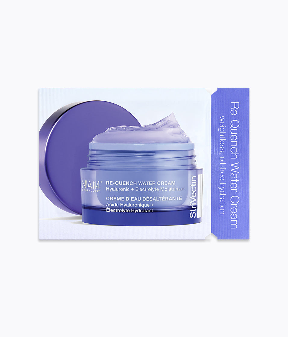 Re-Quench Water Cream Hyaluronic + Electrolyte Moisturizer Packette