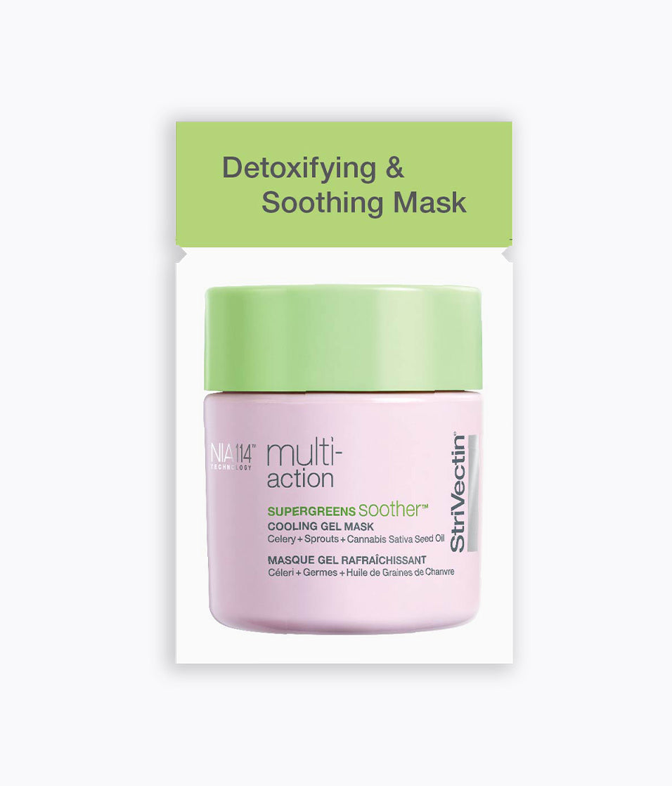 Supergreens Soother™ Cooling Gel Mask Packette