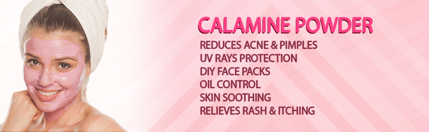 calmaine powder lotion pack mask face skin insect mosquito bite sunscreen protection uv acne pimple rash eczema scare oil control