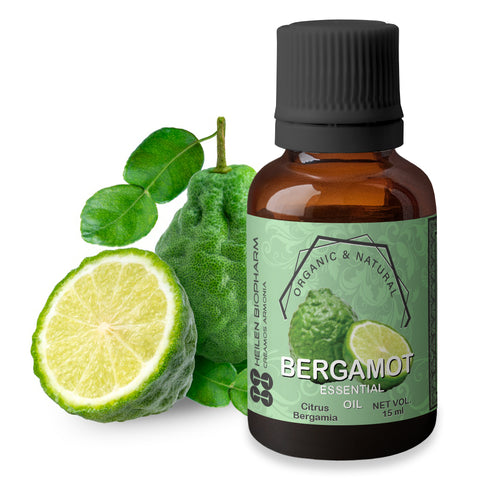 Bergamot Essential Oil (Citrus Bergamia) Freshness, Joy, Energy & Anti-Stress