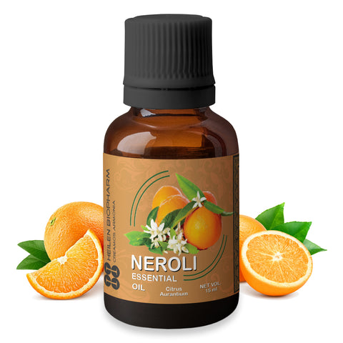 Neroli Essential Oil (Citrus aurantium) Regenerative, Stretch Marks Antiseptic