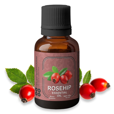 Rosehip Seed Essential Oil (Rosa canina) Moisturizer, Anti-inflammatory, Calming